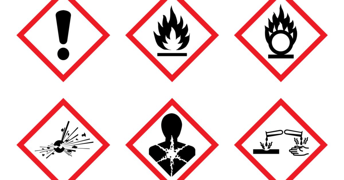 CLP pictograms